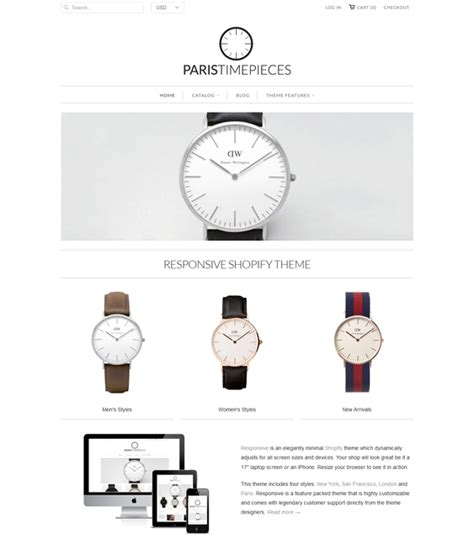 shopify themes jewelry 10 of the best shopify themes for watch jewelry stores