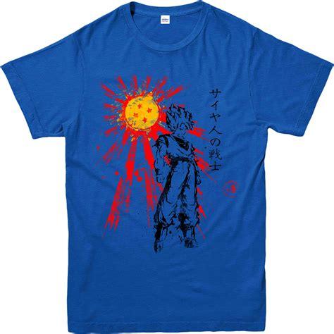 T Shirt Saiyan z t shirt goku saiyan warrior inspired