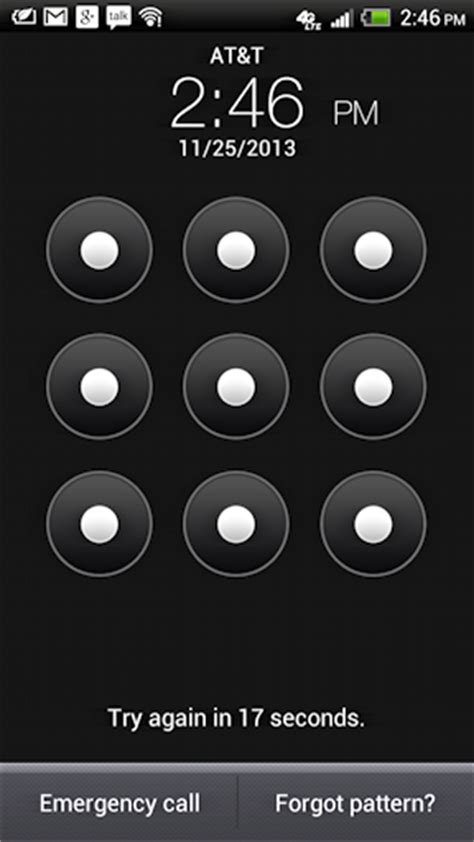 pattern lock screen for android i forgot my android phone security lock pattern help