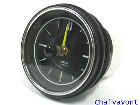mercedes dashboard clock vdo dashboard clock auto vintage mercedes
