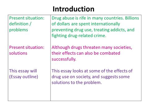 thesis about drug education problem solution essay part 1 ppt video online download