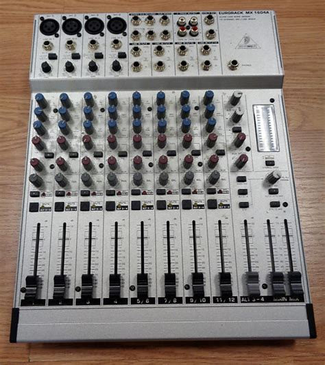 Power Supply Mixer Behringer behringer eurorack mx1604a 16 channel mic line mixer no
