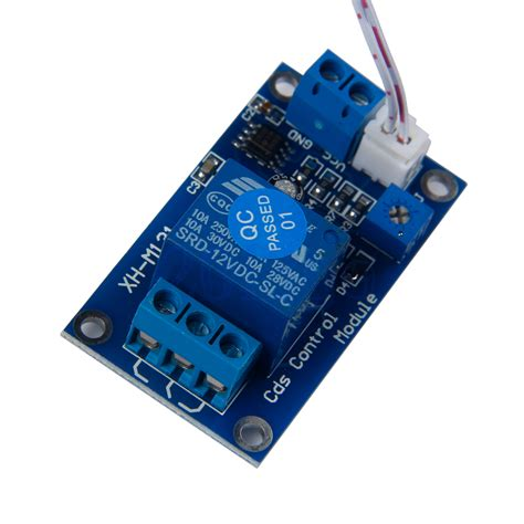 photoresistor relay module 12v light switch photoresistor relay module detection sensor xh m131 yg ebay