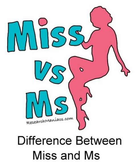 wann ms und wann mrs difference between miss and ms