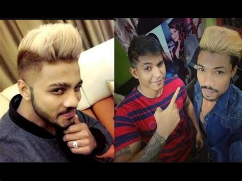 raftaar hair style raftaar singer rapper new blonde hairstyle hair colour