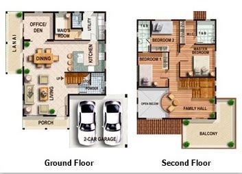 philippine house floor plans lladro model house of crest iloilo by camella