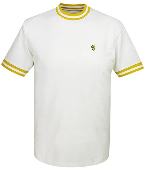 Jv Ringer Sweater Fit L wigan casino ecru gold turtle neck ringer t shirt modfellas mens mod retro vintage