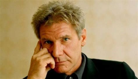 where does harrison ford live harrison ford in wheelchair with foot in plaster after