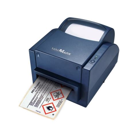 Brady Minimark Label Printer With Markware Software Brady Label Templates