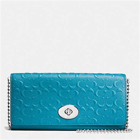 Gucci Envelope Embossed Wallet Slim Envelope Wallet On Chain In Logo Embossed Leather
