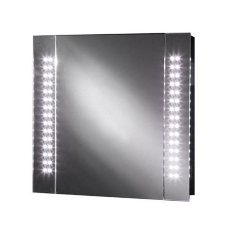 buy galactic led illuminated bathroom mirror cabinet with