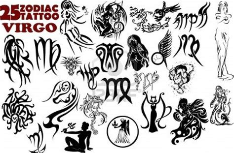 tattoo tribal zodiac designs tattoo ideas virgo zodiac sign danielhuscroft com