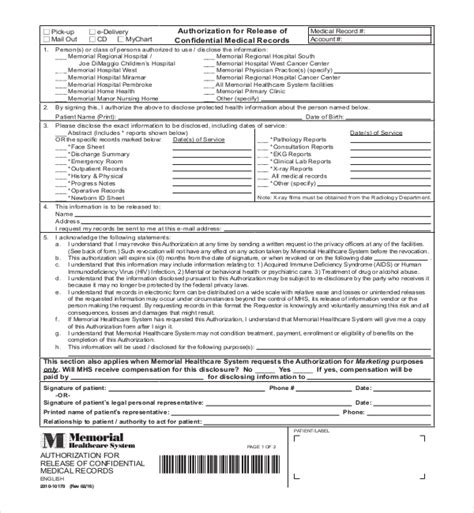 Florida Records 19 Sle Records Release Forms Sle Forms