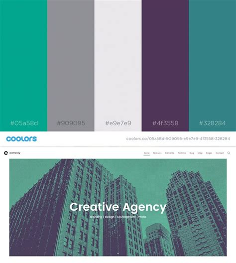 web design color schemes 2017 color palette inspiration for and web design