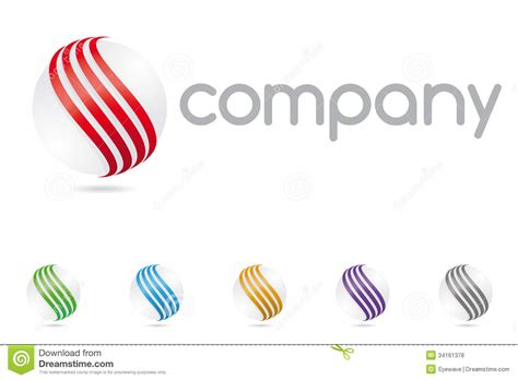 logo symbols for companies abstract sphere symbol company logo royalty free stock photos image 34161378