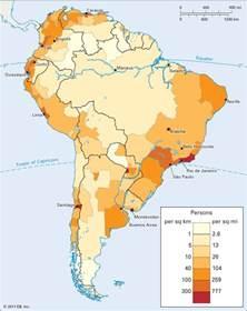 population map america south america population density students britannica