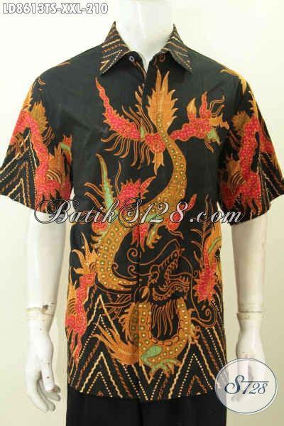 Jual Baju Big Size Pria jual baju batik pria big size hem batik 3l lengan pendek motif unik tulis soga