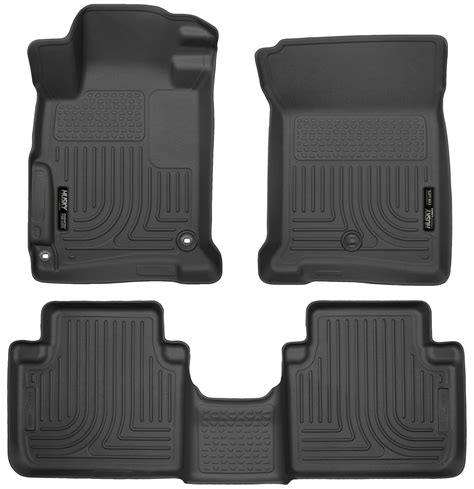 Honda Accord All Weather Floor Mats by Husky Weatherbeater All Weather Floor Mats For Honda