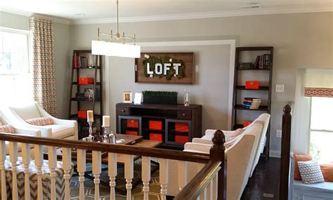 how to decorate a loft 10 decorating ideas spotted in a model home hooked on houses