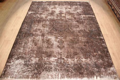 moderne seidenteppiche teppich vintage teppich moderner orientteppich braun