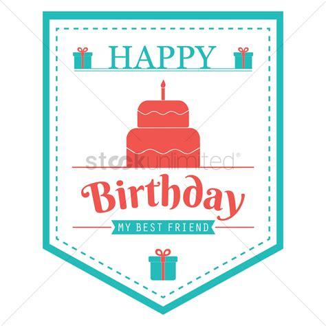 design happy birthday sign happy birthday banner design vector image 1799584