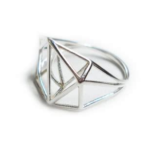 geometric pattern ring falling in love with geometry cool mom picks