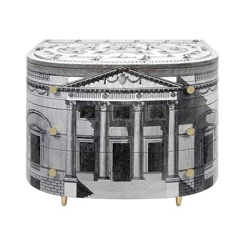 mobili fornasetti curved chest of drawers palladiana
