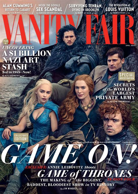 New Vanity Fair Cover by Leibovitz