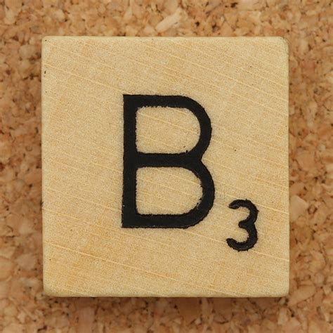 scrabble b wood scrabble tile b flickr photo