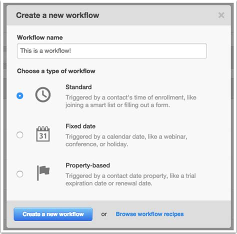 create workflows a tour of workflows