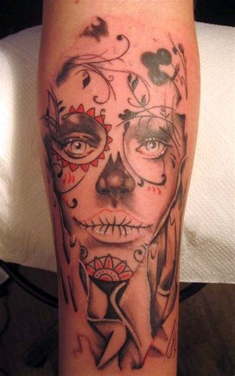 day of dead tattoo beautiful day of the dead www pixshark