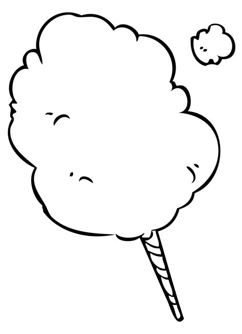 printable lollipop images cotton candy coloring pages 74 free printable coloring