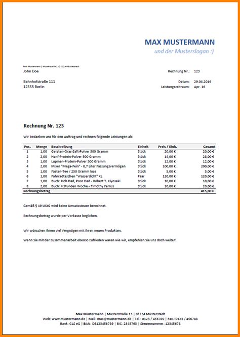 Angebot Vorlage Excel Angebotsvorlage Excel