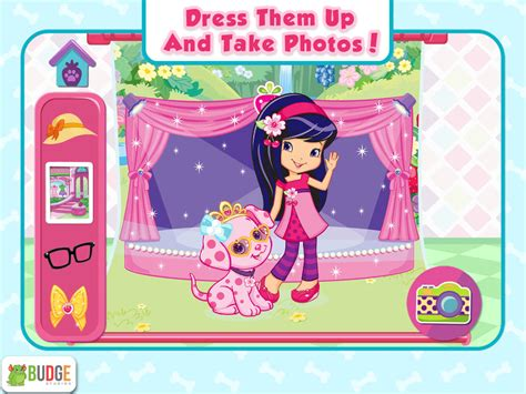 strawberry shortcake puppy palace app shopper strawberry shortcake puppy palace pet salon dress up entertainment