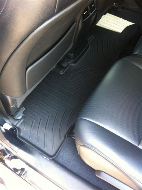 weathertech floor liners from factory store pics page 4 club lexus forums