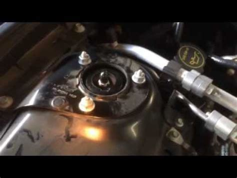 replace rear shocks ford fusion youtube 2012 ford fusion awd strut and shock change youtube
