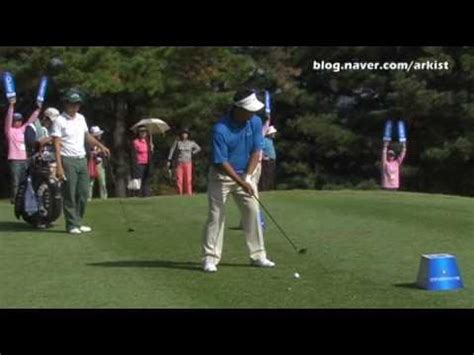 slow motion iron golf swing kj choi slow motion iron golf swing 2 youtube