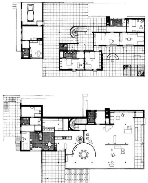 Tugendhat House Plan Ludwig Mies Der Rohe Archigraphie Page 2
