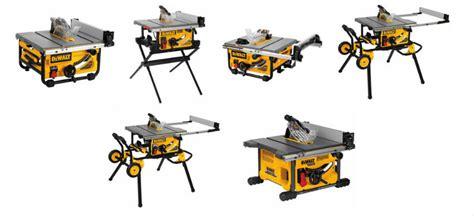 dewalt table saw comparison 6 of the best dewalt table saws a thorough comparison