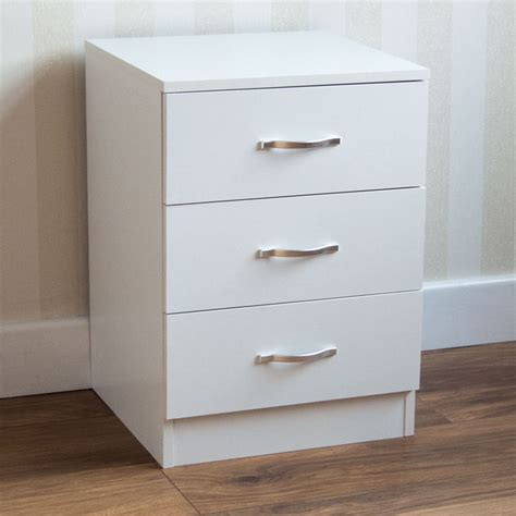 hardware for cabinets and drawers riano bedside cabinet chest of drawers white 3