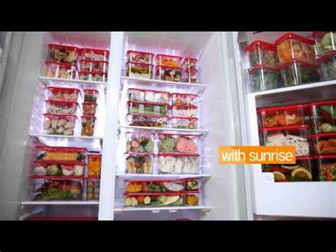 Wide Block Food Container 704 wide block series fridge without with silent by heap seng