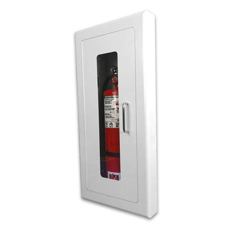 semi recessed fire extinguisher cabinet strike first elite architectural semi recessed fire