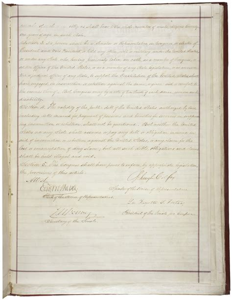 fourteenth amendment section 1 constitutional amendments 11 27