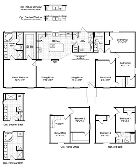 palm harbor home floor plans view the harbor house ii floor plan for a 1749 sq ft palm