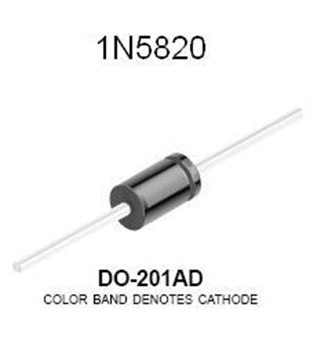 power diode cost 1n5822 3 schottky power diode nightfire electronics llc