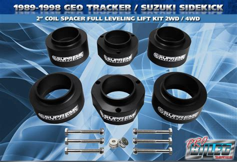 Suzuki Sidekick Lift Kits 89 98 Geo Tracker Suzuki Sidekick 2 Quot Coil Spacer
