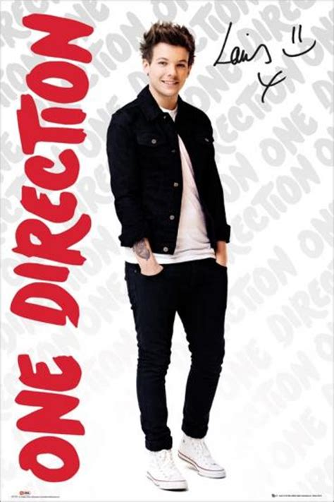 louis tomlinson poster one direction louis tomlinson poster large maxi new