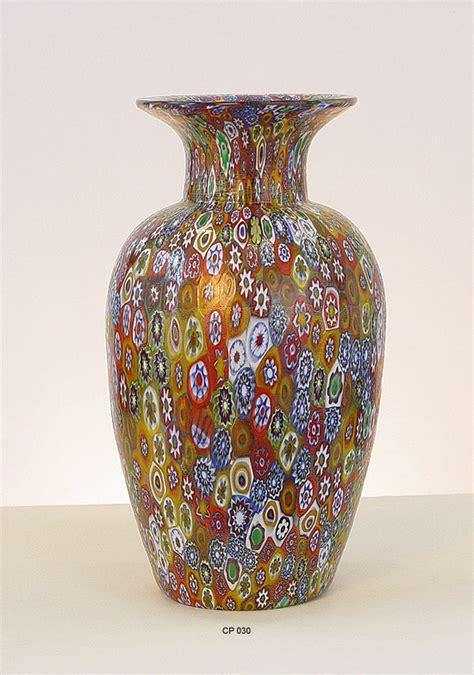 la murrina vasi arredare con il vetro di murano originale