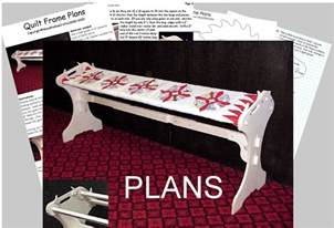Quilting Frame Plans by Quilting Frame Plans Easy To Build 12 99 Picclick