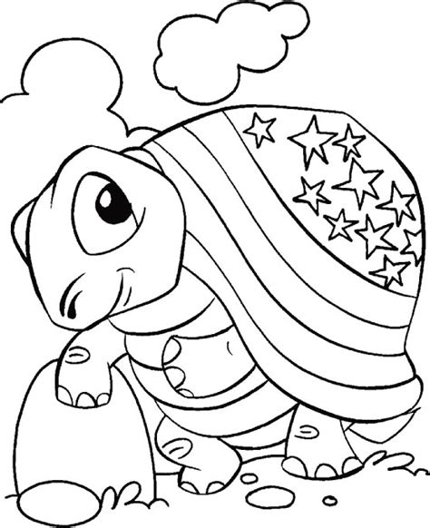 crayola coloring pages 4th of july 4th of july tortise coloring page download free 4th of
